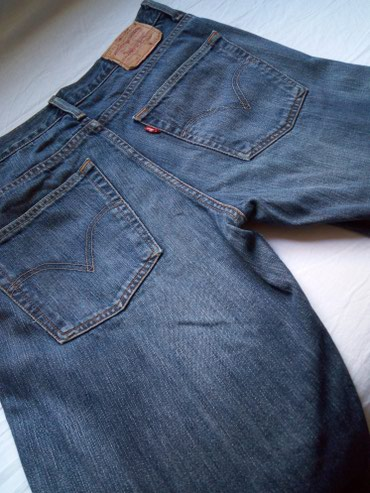 Levis 507 - Bootcut Zip Fly Jeans - Nis