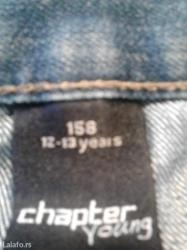 Farmerke  vel. 158 12-13 god. Malo nošene kao nove - Zrenjanin