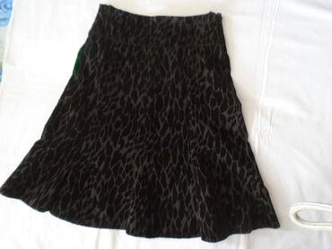 Elegantna zimska Club Simo, suknja od čvršeg kvalitetnog plišanog