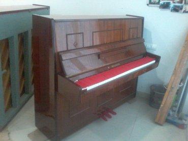 Gəncə şəhərində Gəncədə Təzə Belarus Piano Satilir 3-Pedalli Köklənmiş