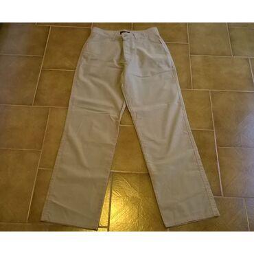 Παντελόνι αντρικό μπεζ Zara sport - Νο.40 - 100% CottonTo παντελόνι