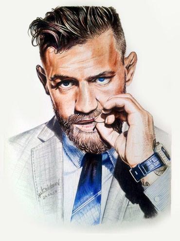 Профессиональный художник делает портреты по фото