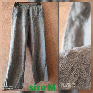 Брюки льняные под джинс тонкий.Несколько раз надето, идеальное