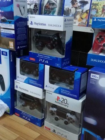 Bakı şəhərində Playstation 4 aksesuarlarinin satisi