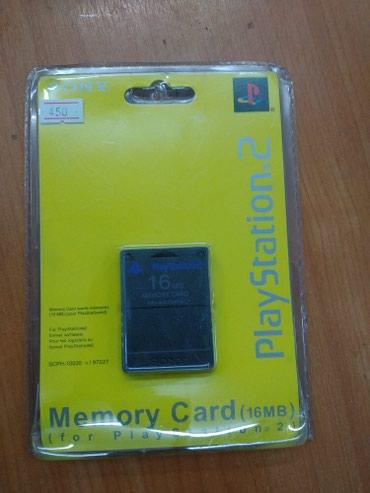 карты памяти для видеокамеры в Кыргызстан: Memory card. Карта памяти на Playstation-2. 8Mb