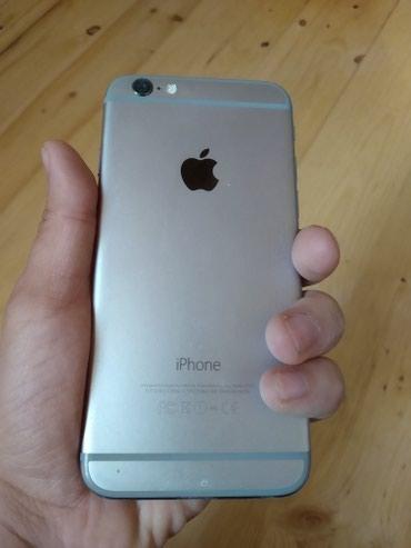 Bakı şəhərində İPhone 6 Space Gray 16 GB təzə kimidir. Zaryatkanı əla saxlayır.