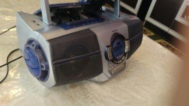 Магнитолы - Базар-Коргон: Магнитафон,читает касету,диск и радио
