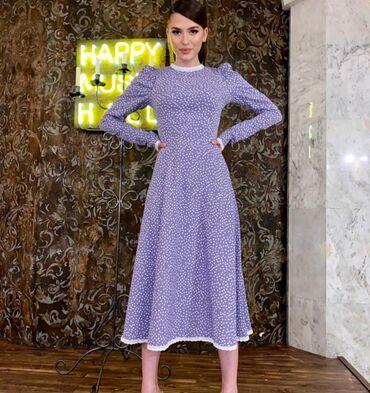 НОВИНКА Шикарное платье Японский шёлк Размер 42-44 повтор Цена 1400сом