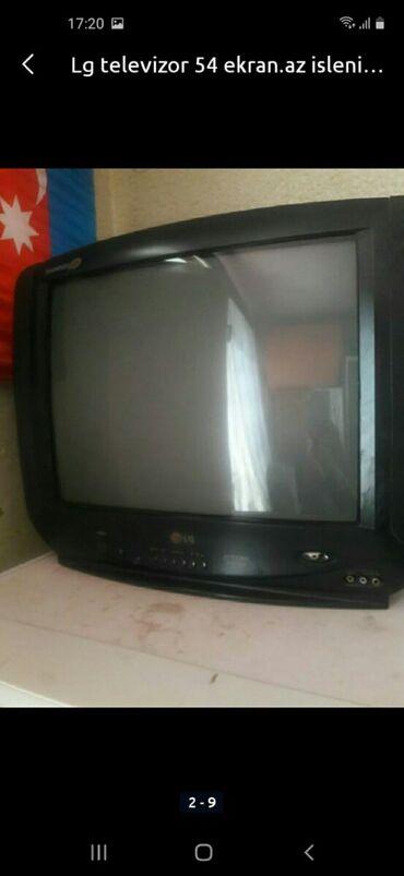 54 ekran lg tv satilir.50manata satilir