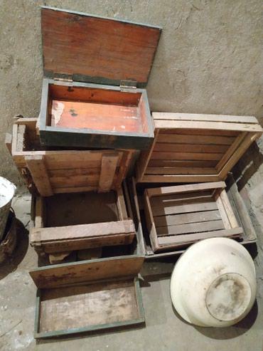 деревянные игрушки ручной работы в Кыргызстан: Деревянные ящики, разные!