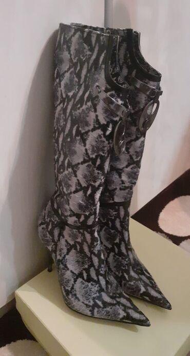 детское леопардовое платье в Азербайджан: Сапоги