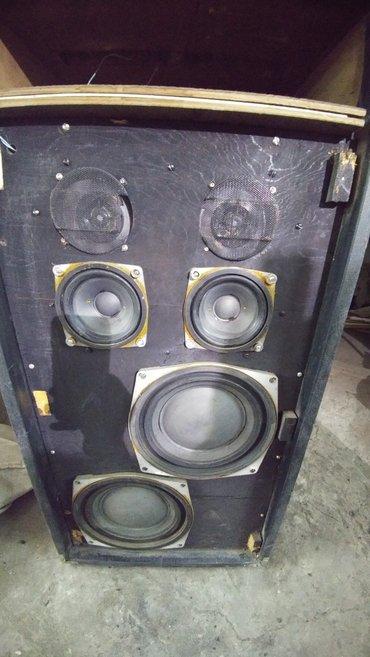 apparaturu s90 в Кыргызстан: Продаю колонку акустика хорошая.Играет как 2 s90.В одной колонке,зав