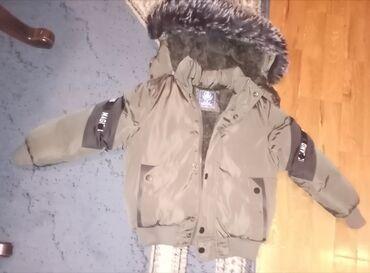 Maslinasto zelena jakna - Srbija: Prodajem deciju zimsku jaknu,malo je nosena,odlicno ocuvana, kao nova