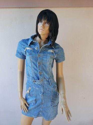 Teksas haljinica ne nošena samo je etiketa skinutaIma elastina