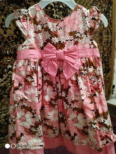 Платье очень хорошее качество, на девочку 1-2 годика в Бишкек