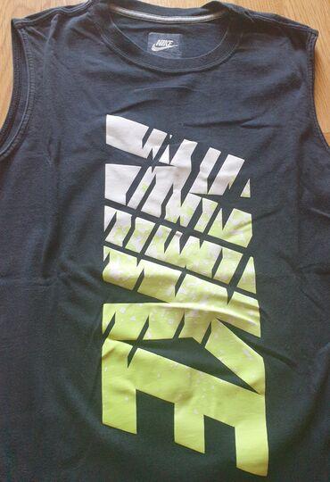 Nike original muska majica, bez rukava, crna, najveci deciji broj xl