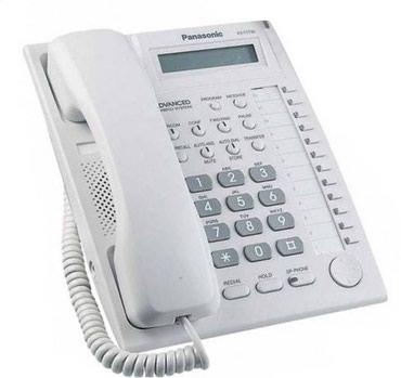 Купить сотовый телефон бу - Кыргызстан: ТЕЛЕФОН PANASONIC KX-T7730X (СИСТЕМНЫЙ) Буквенно-цифровой