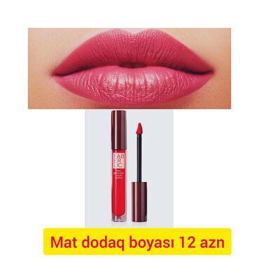 dodaq boyalari - Azərbaycan: Mat dodaq boyası.12azn