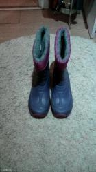 Dečije Cipele i Čizme | Pancevo: Gumene cizme,jake,odlicno stanje,par puta obuvene-male su. Broj je 36
