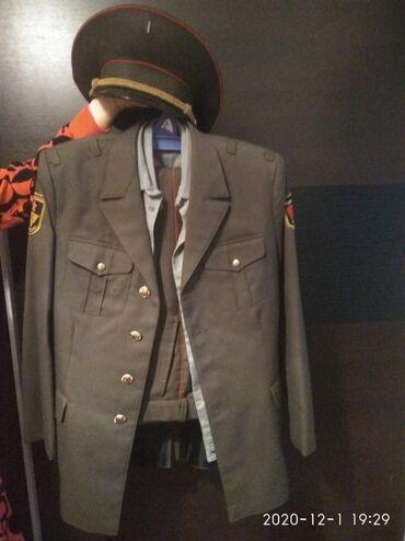 Продаётся военная форма, две рубашки (летняя и зимняя) и фуражка Б/у