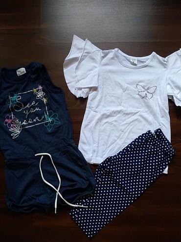 Dečija odeća i obuća   Ruma: Komplet garderobe za devojčicu - Novo. Veličina 8. Cena je za ceo