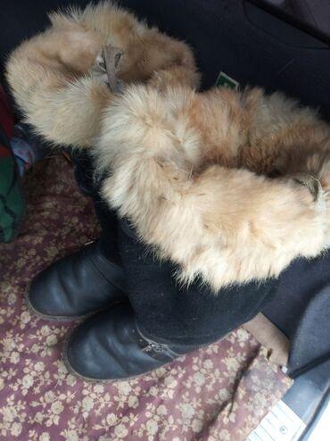 теплые унты в Кыргызстан: Продаю Унты натуральный мех, очень тёплые в хорошем состоянии за