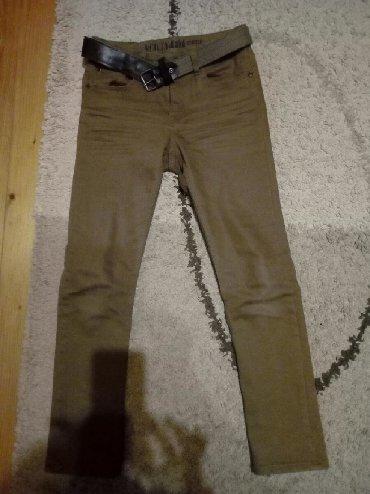 Dečija odeća i obuća | Pancevo: Farmerke,odlicne. H&M vel.10-11 sa kaisom. Imaju gumu u struku za