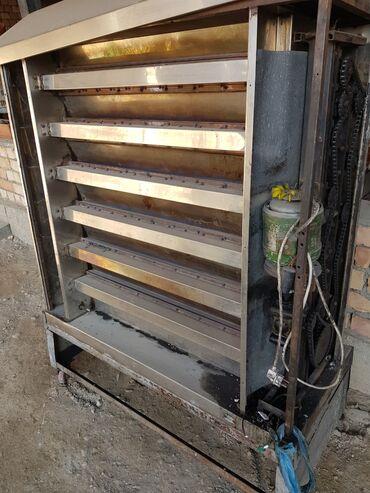 Оборудование для бизнеса - Кызыл-Кия: Газовый гриль аппарат АВТОМАТИЧЕСКИЙ  ЗАВОДСКОЙ РОССИЯ Сразу 30гриль