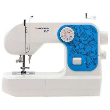 Швейная машина jaguar v7 Характеристики, Тип управления электромеханич
