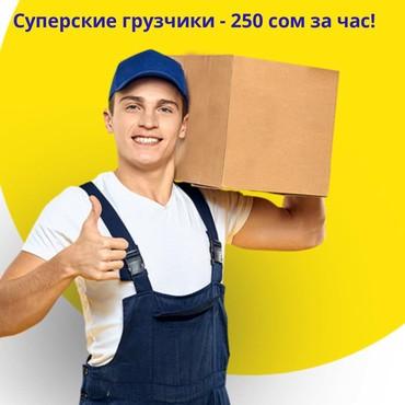 Грузовые перевозки - Кыргызстан: Услуги грузчиков! Грузчики! Ответственные, быстрые и