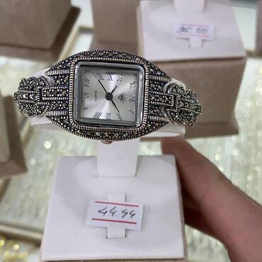 Часы Серебро с марказидами 925 пробыПроизводитель ТайландЕсть