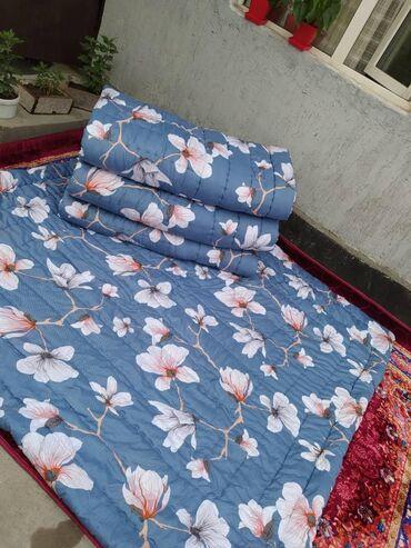 Ватный лёгкий одеяло. Материал % хб Лен. Рассветки разные