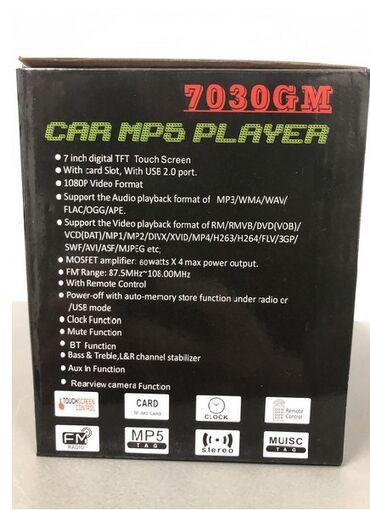 "Mp5 radio player multimedija 2din 7 inca touch screen bluethoot  1.7"""""