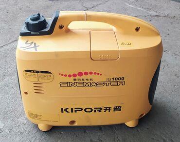 Инструменты - Кыргызстан: Продам переносной бензиновый генератор Kipor Sinemaster 1кВт. Хорошее