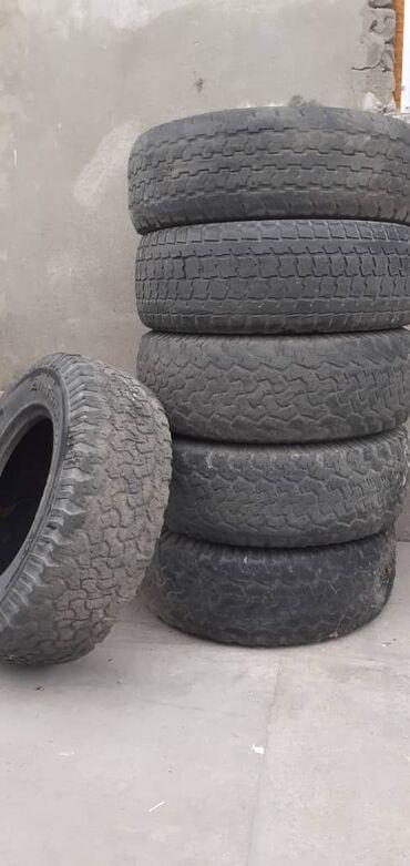 Продаю шины б/у 265/70/16 по 800 сом за штуку