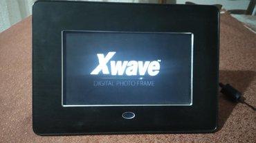 Ostali aksesoari | Srbija: Xwave digitalni foto ram. ispravan. ocuvan. pustanje slika uz