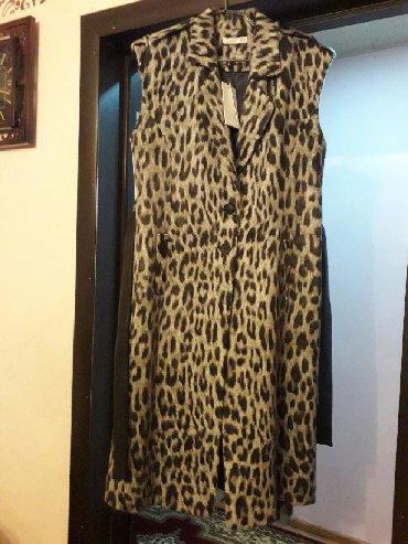 Teze qolsuz brend leopard palto,kemeri kojadandir. kataloqla