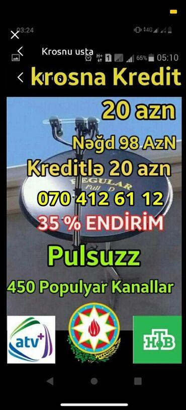 krosnu - Azərbaycan: Krosna peyk antena kredit quraşdırılması Krosnu kredit sifariş peyk