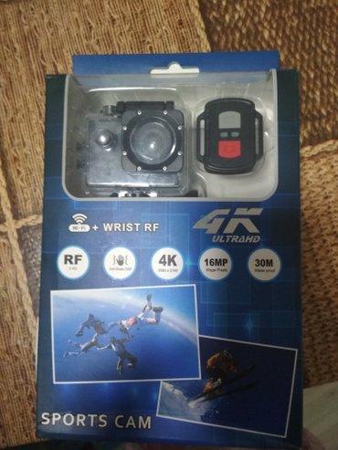 Экшен камера 4к с wi- Fi новая в Кок-Ой