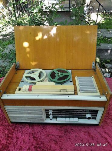 магнитофон для машины в Кыргызстан: Магнитофон ретро антиквары