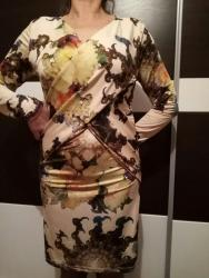 Nova prelepa haljina,iz Pariza. Stoji savrseno. Neobican model - Kovacica