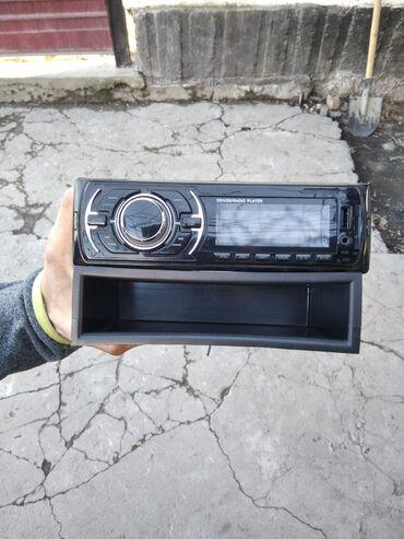 Продаю магнитолу (Китай) есть коробка, кассета в подарок