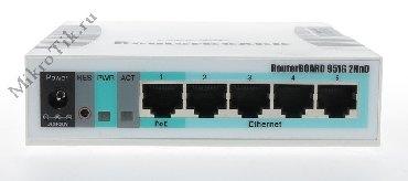 маршрутизаторы gbx в Кыргызстан: Mikrotik RouterBoard RB951G-2HnD – беспроводной маршрутизатор высокой