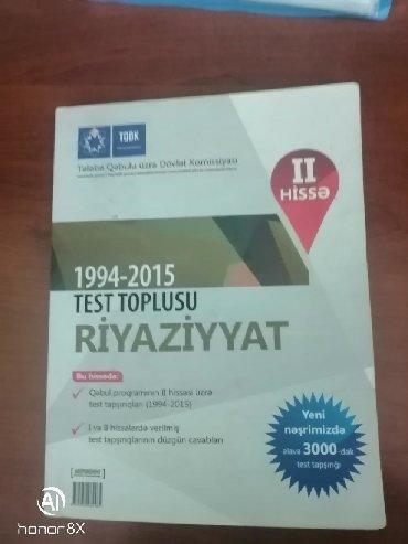 kankiler qiymeti - Azərbaycan: Riyayyat test toplusu II hisse. Qiymet sondur