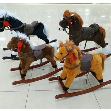Музыкальные лошадки качалки. в Бишкек