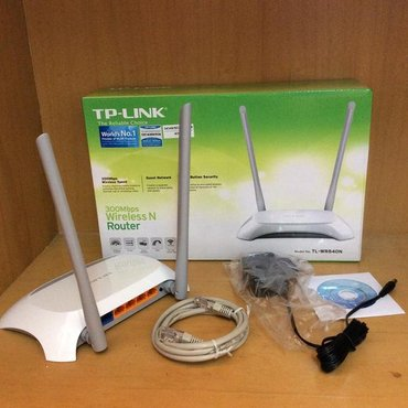Tp-link tl-wr840n 300mbps wireless n cable router. Yenidi istifade в Баку