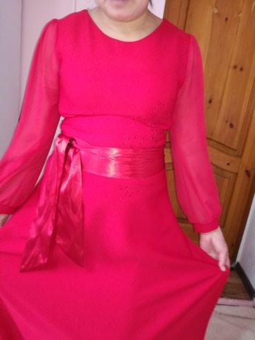 Турецкое Сочно красное платье в Бишкек