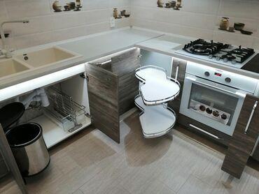 Мебельные услуги - Кыргызстан: Мебель на заказ | Стулья, Кухонные гарнитуры, Столешницы | Самовывоз, Платная доставка