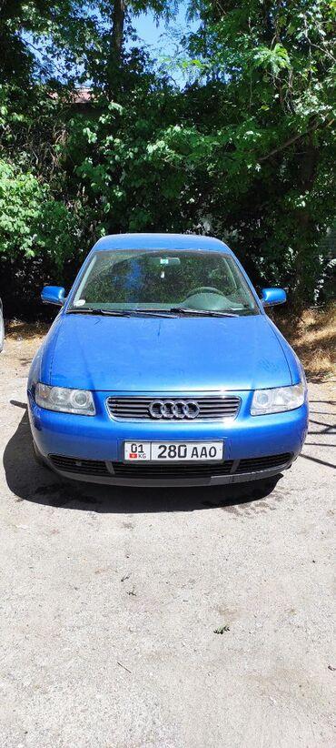 audi-a6-3-tdi в Кыргызстан: Audi A3 1.8 л. 2002 | 245000 км