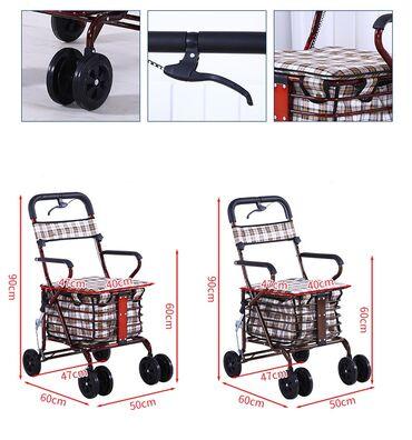 Новая инвалидная коляска, легко складывается. Оснащена ручным тормозом